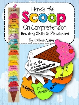 Ice-Cream Scoop Comprehension Strategies