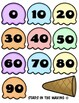 Ice Cream Scoop SKIP COUNTING by 10 (#0-9)