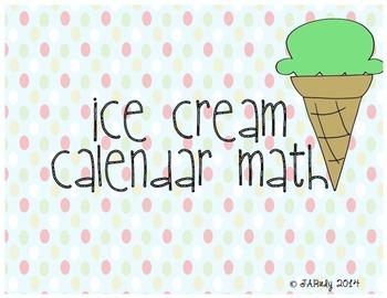 Ice Cream Scoop Theme: Calendar Math