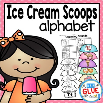 Ice Cream Scoops: Alphabet