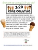 Ice Cream Scoops Counting 0-20