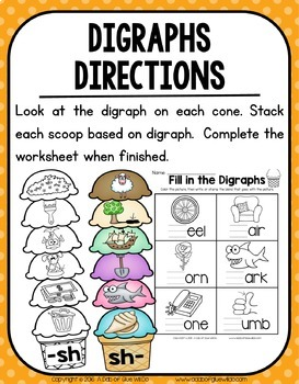 Ice Cream Scoops: Digraphs
