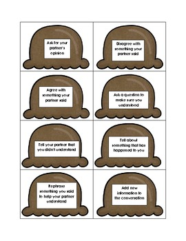 Ice Cream Scoops Game for Topic Maintenance and Turn-Taking