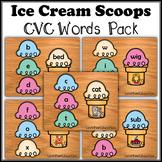 Ice Cream Scoops LARGE CVC PACK