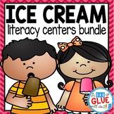 Ice Cream Scoops: Literacy Bundle