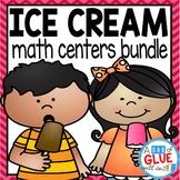 Ice Cream Scoops Math Centers