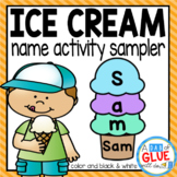 Ice Cream Scoops: Names Activity