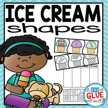 Ice Cream Scoops: Shapes
