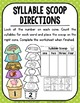 Ice Cream Scoops: Syllables