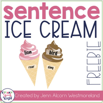 Ice Cream Sentences