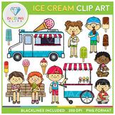 Ice Cream Set Clip Art