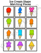 Folder Game: Ice Cream Shape Matching for Students with Autism & Special Needs