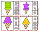 Ice Cream Shapes Clip Cards