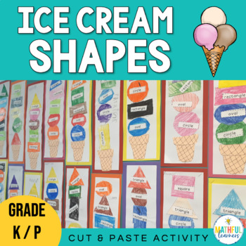 Ice-Cream Shapes - Freebie