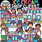 Ice Cream Shop Clipart {Ice Cream Clipart}