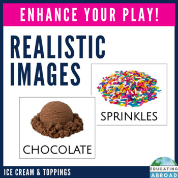 Ice Cream Shop Differentiated Dramatic Play