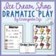 Ice Cream Shop Dramatic Play!