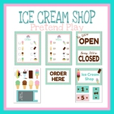 Ice Cream Shop Dramatic Play, Pretend Play, Learning Games