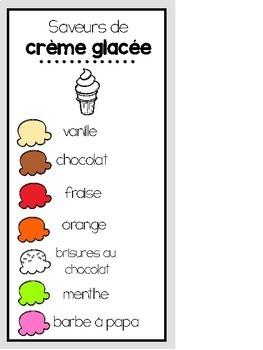 Ice Cream Shop Dramatic Play Printables: Le glacier