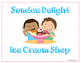 Ice Cream Shop Dramatic Play (Sundae Delight Ice Cream Shop)