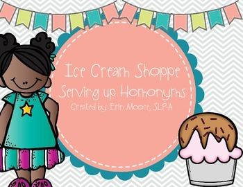 Ice Cream Shoppe Serving up Homonyms