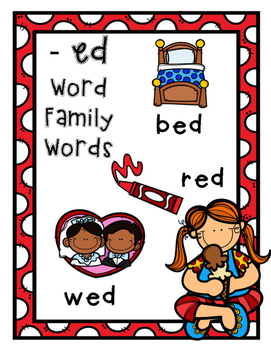 Ice Cream Short E Word Families and CVC Word Work