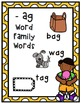 Ice Cream Short Vowel Word Families and CVC Word Word Bundle