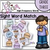 Ice Cream Sight Word Game - Grade Three Dolch List