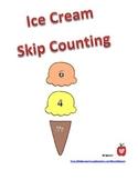 Skip Counting - Ice Cream Theme