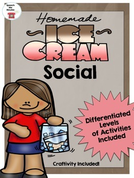 Ice Cream Social Activity