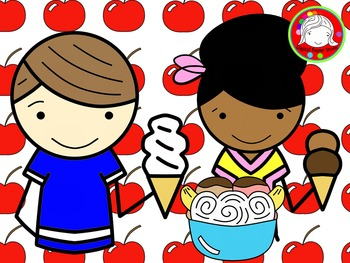 Ice Cream Social Clipart (Personal & Commercial Use)