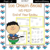 Ice Cream Social: End of Year Review