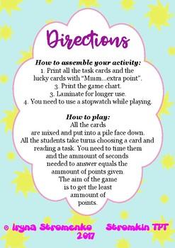 Ice Cream Speaking Game Name 3