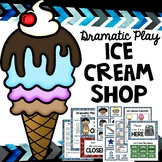 Ice Cream Store - Dramatic Play for preschoolers and schoo