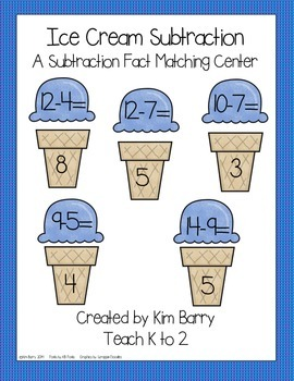 Ice Cream Subtraction