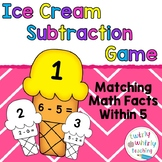 Subtraction Matching Game Within 5