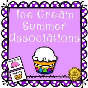 Ice Cream Summer Associations