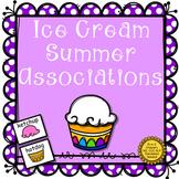 Ice Cream Summer Associations