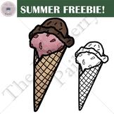 Ice Cream Summer Freebie