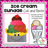 Ice Cream Craft {Ice Cream Sundae}