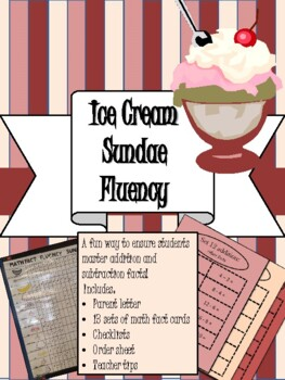 Ice Cream Sundae Fluency