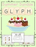 Data Collection and Graphing Ice Cream Sundae Glyph