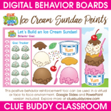 Ice Cream Sundae Points Digital Behavior Board | Distance