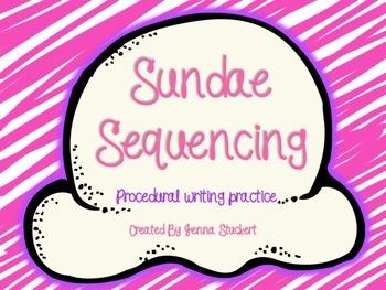 Ice Cream Sundae Sequencing