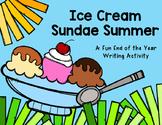 Ice Cream Sundae Summer FREEBIE