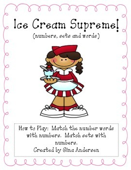 Ice Cream Supreme-Number sets and words