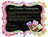 Ice Cream Synonyms