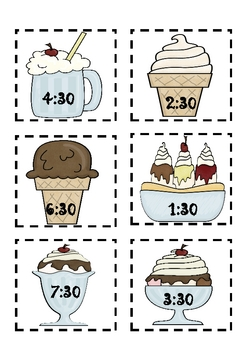 Ice Cream Telling Time