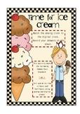 Ice Cream Telling Time