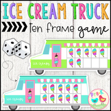 Ice Cream Ten Frame Game